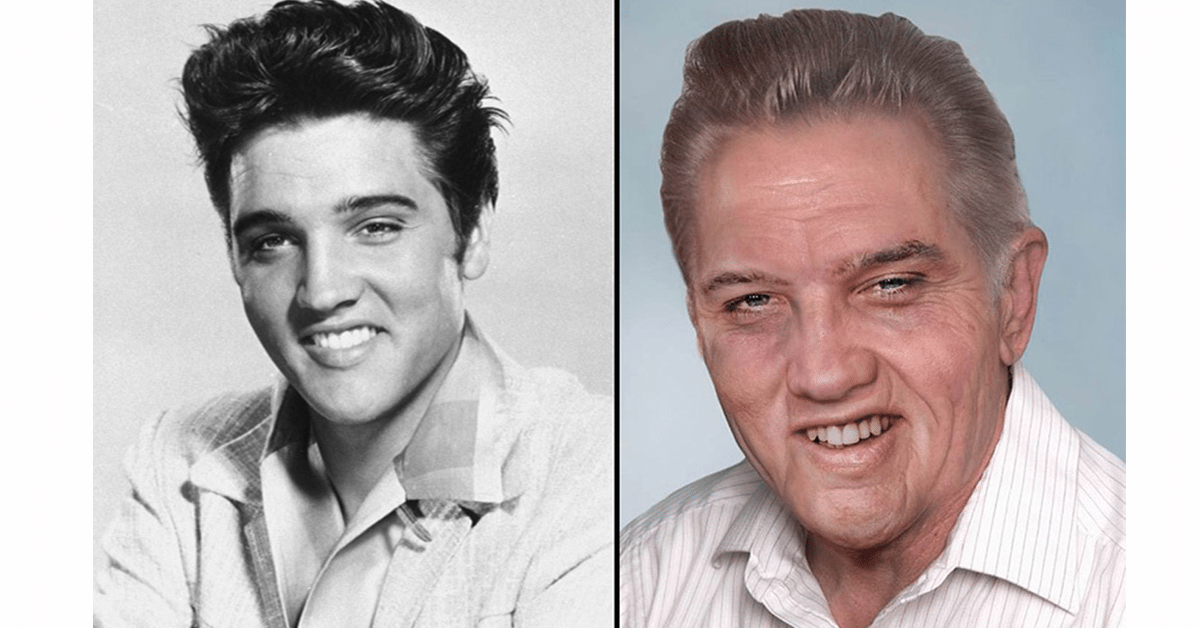 What Elvis Would Look Like If He Were Alive Today Jesus
