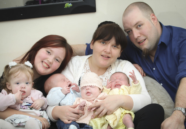 Doctors Stunned When Mom Gives Birth To 4 Babies In Just 11