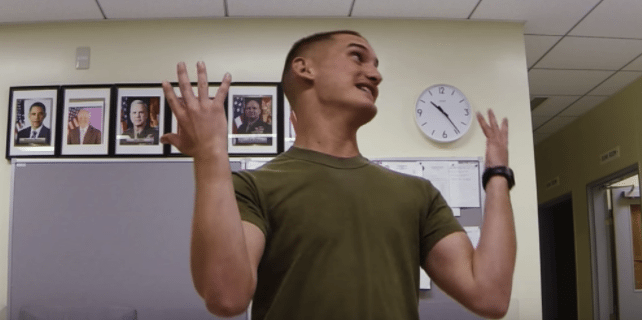 U S  Marines Create Hilarious 'Pitch Perfect' Parody That's Gone