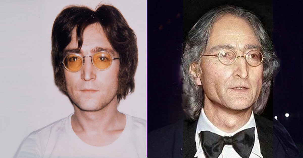 Many Have Asked What The Late John Lennon Would Look Like If He Were Alive Today Now Through An Artist Rendering We Get A Glimpse Share On Facebook