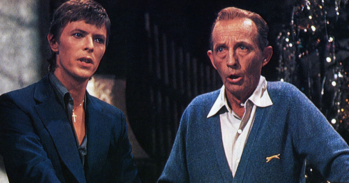 """Bing Crosby and David Bowie sing """"Peace on Earth/Little Drummer Boy"""" from 1977 Christmas Special ..."""